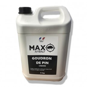 Attractant Max Attract goudron de pin liquide