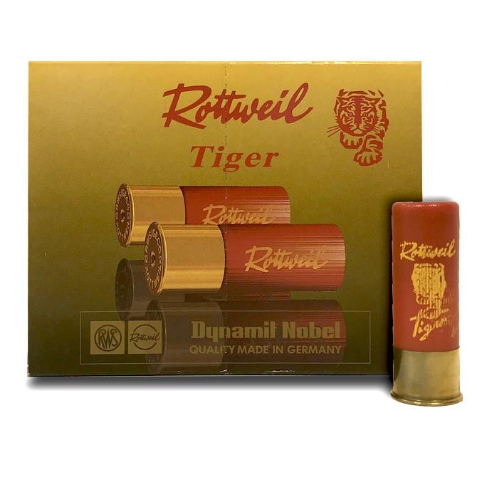 Cartouche Rottweil Tiger calibre 16
