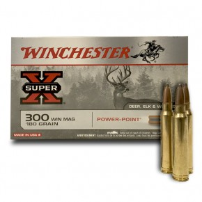 winchester power point 300 WM 180 Gras