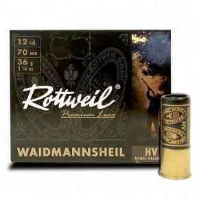 Cartouches Rottweil Waidmannsheil HV calibre 12