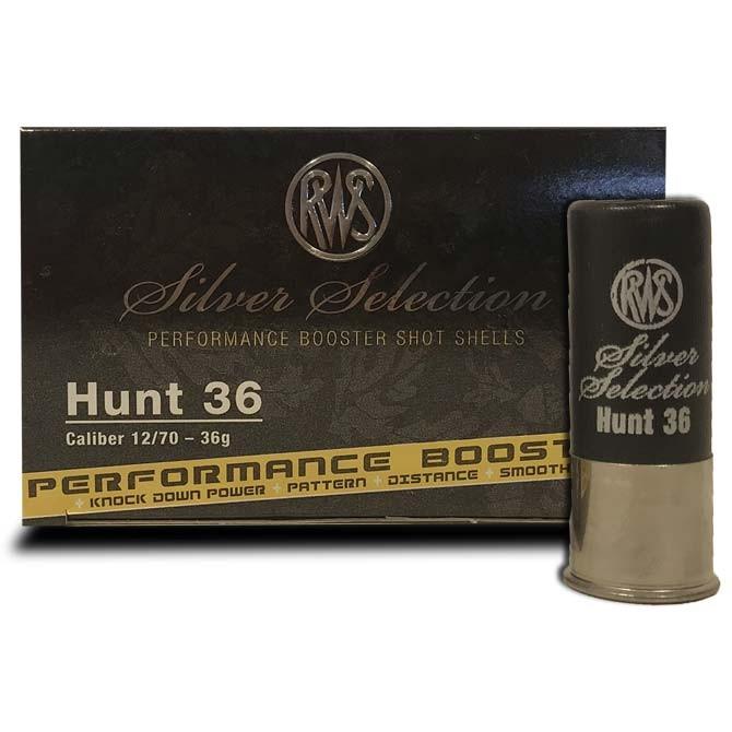 Cartouche Rws Hunt 36 calibre 12