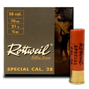 Cartouche Rottweil Calibre 28 - 21g