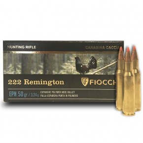 Fiocchi Epn 222 Remington : 50 Grs