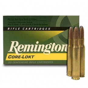 Balles Remington Core Lokt 30-06 - 180Gr