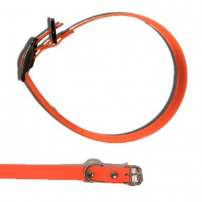 Collier Biothane Orange 45 Cm