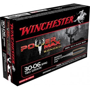 CART 30.06SPR SUPER-X 180GR POWER MAX BONDED 20/200