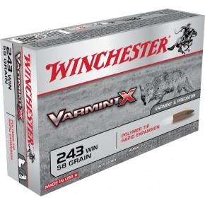 WIN 243WIN VARMINTX 58GRS