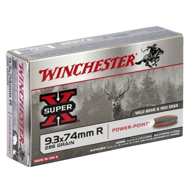 WINCHESTER 9.3X74MM