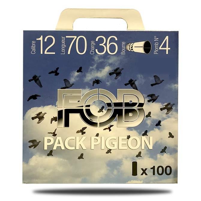 Pack pigeon Fob calibre 12 - 36g