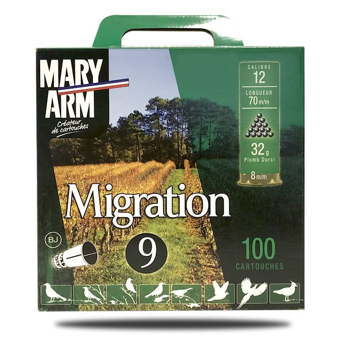Pack Migration Mary Arm Calibre 12 - 36g