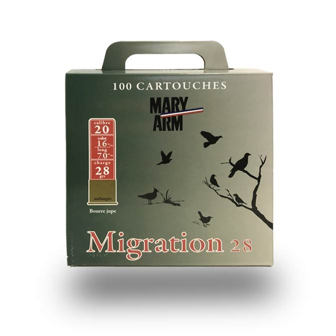 Pack Mary-Arm Migration 28 cal 20