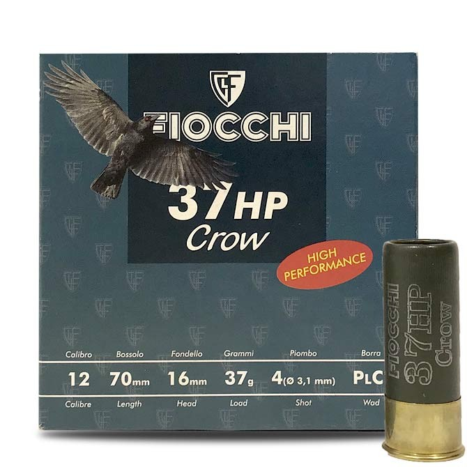 Fiocchi corbeau 37 Hp calibre 12