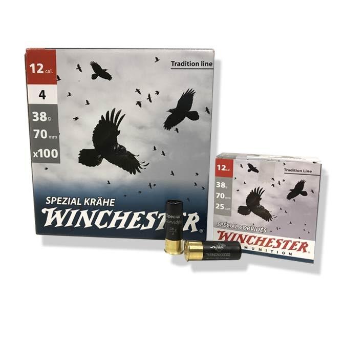 """Pack de 100 Cartouches Winchester """"Spécial Corvidés"""""""