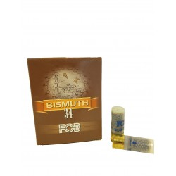 CARTOUCHES DE CHASSE FOB BISMUTH 34 GRAMMES BOURRE GRASSE CALIBRE 12