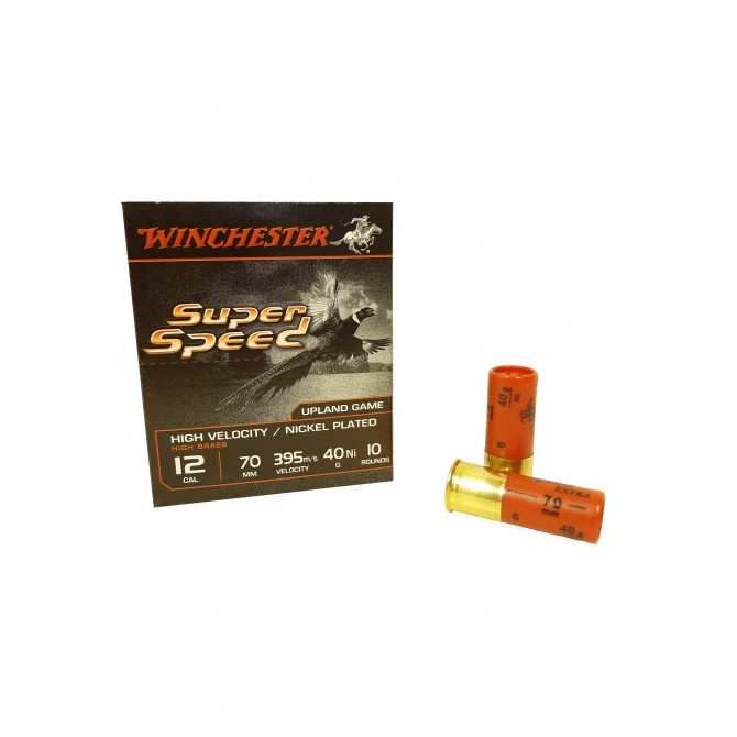 Cartouches winchester super speed 12/70 40 gr