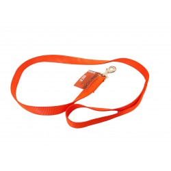 LAISSE PLATE NYLON 120 CM ORANGE