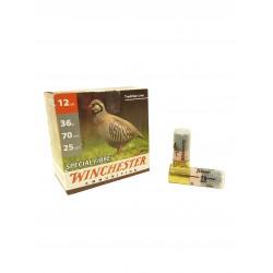 Cartouches Winchester Spécial Fibre cal 12 36g pb 5