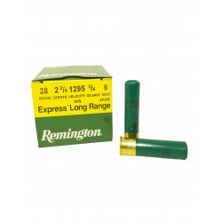 CARTOUCHES EXPRESS EXTRA LONG RANGE cal28 REMINGTON