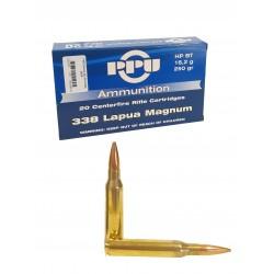 Cartouches PARTIZAN HP BT 250 gr .338 Lapua Magnum
