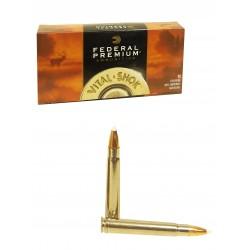 BALLES FEDERAL NOSLER ACCUBOND VITAL SHOK 375 HH Magnum 260 Grains PAR 20