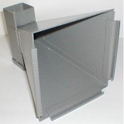 Porte Cible conique avec réceptacle à plombs 14x14 cm