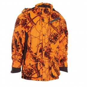 DEERHUNTER VESTE ORANGE BATTUE