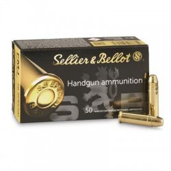 MUNITIONS SELLIER & BELLOT FMJ CALIBRE 38 SPECIAL 158 GRS