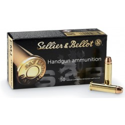 MUNITIONS 357 MAGNUM SELLIER & BELLOT SP 158 GRS