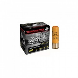 CARTOUCHES WINCHESTER ZZ PIGEON CAL.20 30GR