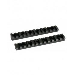 2 rails pour garde-main M4 & AR15 (UTG R16S)