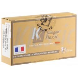 Munition Sologne Klassic Subsonique Cal. 270 win 9.7g 150gr
