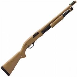 Fusil à pompe WINCHESTER SXP Dark earth Defender rifled cal.12/76 canon 61cm