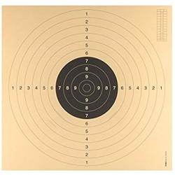 CIBLE C 50 AVEC ENCOCHES 55 x 53 cm