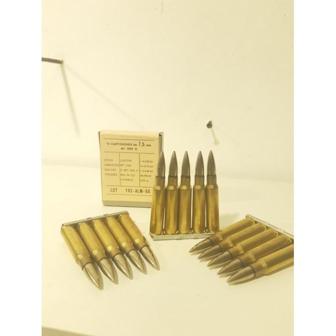 Munitions 7.5x54 mas d'origine