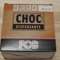 CARTOUCHE DE CHASSE FOB CHOC DISPERSANTE PB 7
