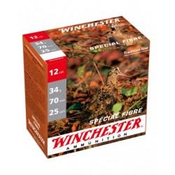 WINCHESTER Spécial Fibre 12 / 70 34g Plombs au choix
