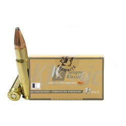 Munitions SOLOGNE 358WIN 200GR 13G CORE LOCK RN