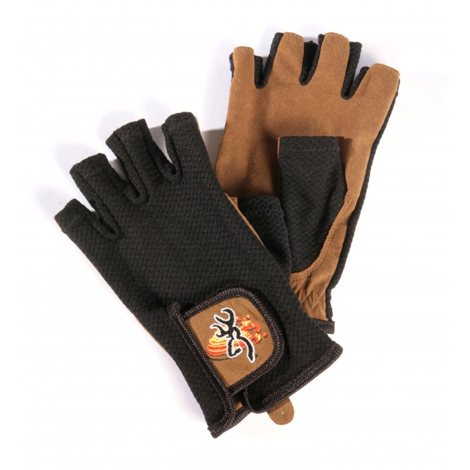 MITTEN CLAY GLOVE MESH BACK TL