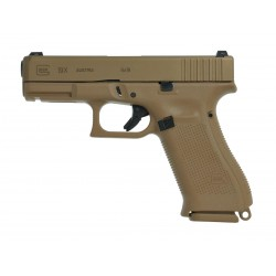 Pistolet Glock 19X calibre 9x19 mm