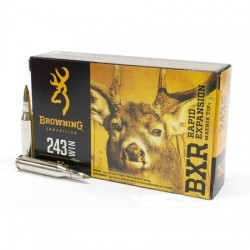 Munitions Browning cal. 243 Win BXR 97 gr