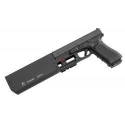 Silencieux Fischer FD917 compact 9 mm Glock 17 GEN5