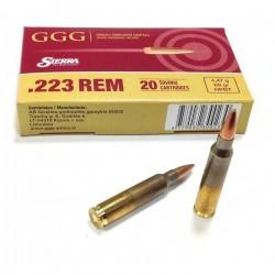 Munitions GGG 223 Rem HPBT Sierra MatchKing 77GR 4.99G