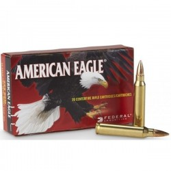 Munition Federal American Eagle 223 Rem FMJ-BT 55 gr