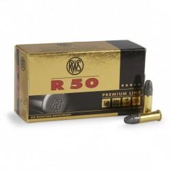 50 munitions RWS R50 Premium Line .22 LR