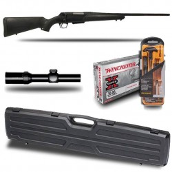 Pack Battue : Winchester Xpr + lunette HAWKE FRONTIER 1-6X24