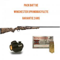 Carabine à verrou Winchester XPR Hunter mobuc filetée Cal.308win