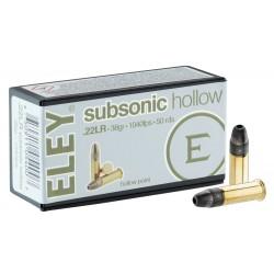 ELEY SUBSONIC 22LR X50