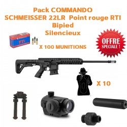 Pack COMMANDO SCHMEISSER BA-15 + POINT ROUGE