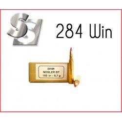 Munitions SOLOGNE 284 WIN NOSLER BT 150 GR 9.7G