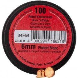 100 munitions RWS 6mm à blanc